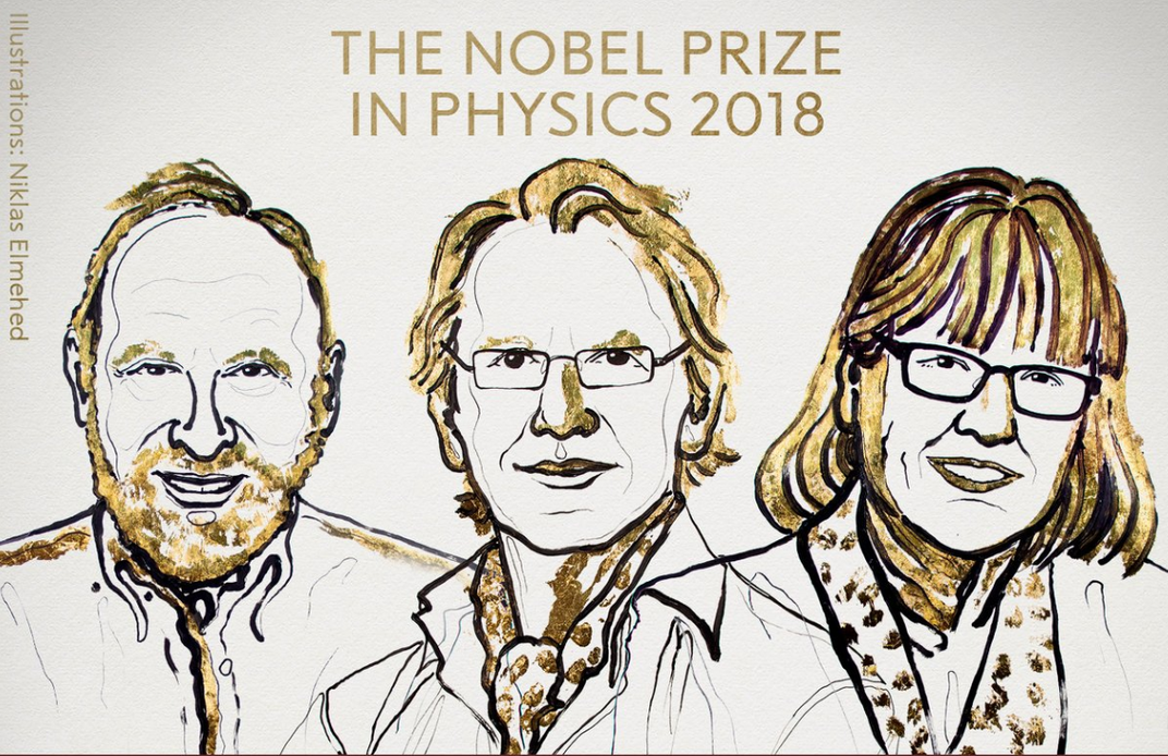 The Nobels Notoriously Overlook Women Physicists. Donna Strickland's Win Puts That Disparity into the Spotlight