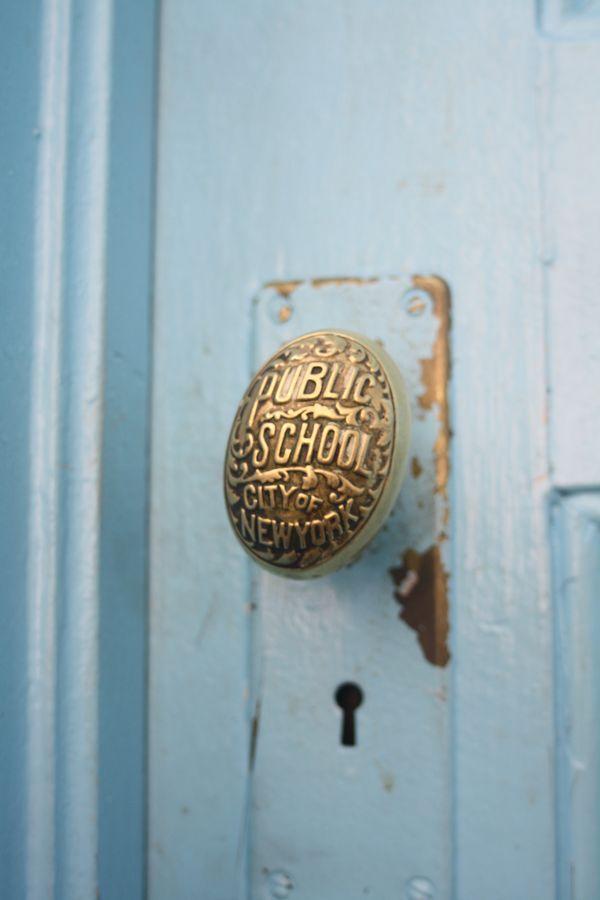 NYC Public School Doorknob thumbnail