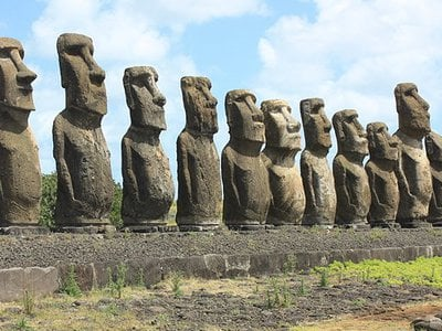 The legendary Moai statues have fascinated modern civilization since their discovery.