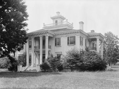 Choctaw chief Greenwood LeFlore had 15,000 acres of Mississippi land (above, his Mississippi home Malmaison) and 400 enslaved Africans under his dominion.