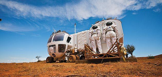 NASA Lunar Electric Rover