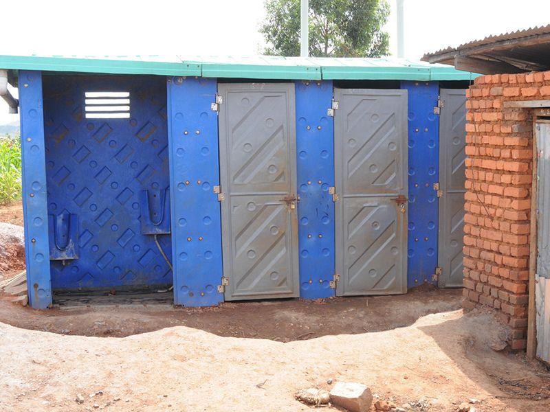 Latrines in Burundi