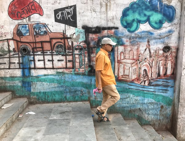 Graffitied walls thumbnail