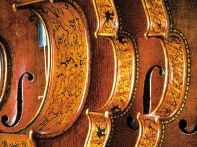 The Smithsonian collection of 8,000-plus instruments includes 5 by Stradivari.