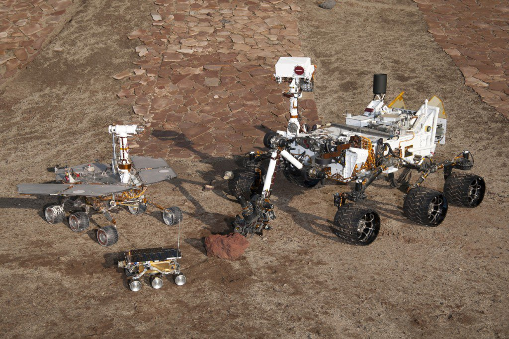 A New Generation of Interplanetary Rovers Is Crawling Toward the Stars