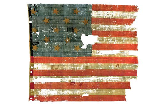 The Star Spangled Banner, the flag that inspired our national anthem (NMAH)