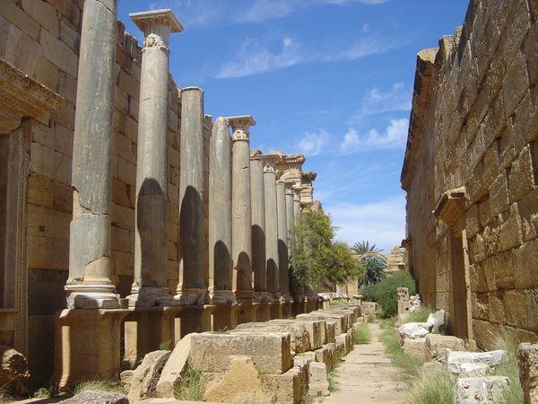 Leptis Magna ,Lýbia thumbnail