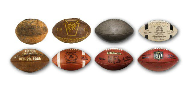 How Did the Pigskin Get Its Shape?