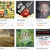 A selection of classic books available on Audible Stories