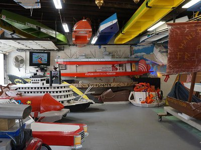The Cardboard Boat Museum tells the quirky history of a 28-year tradition.