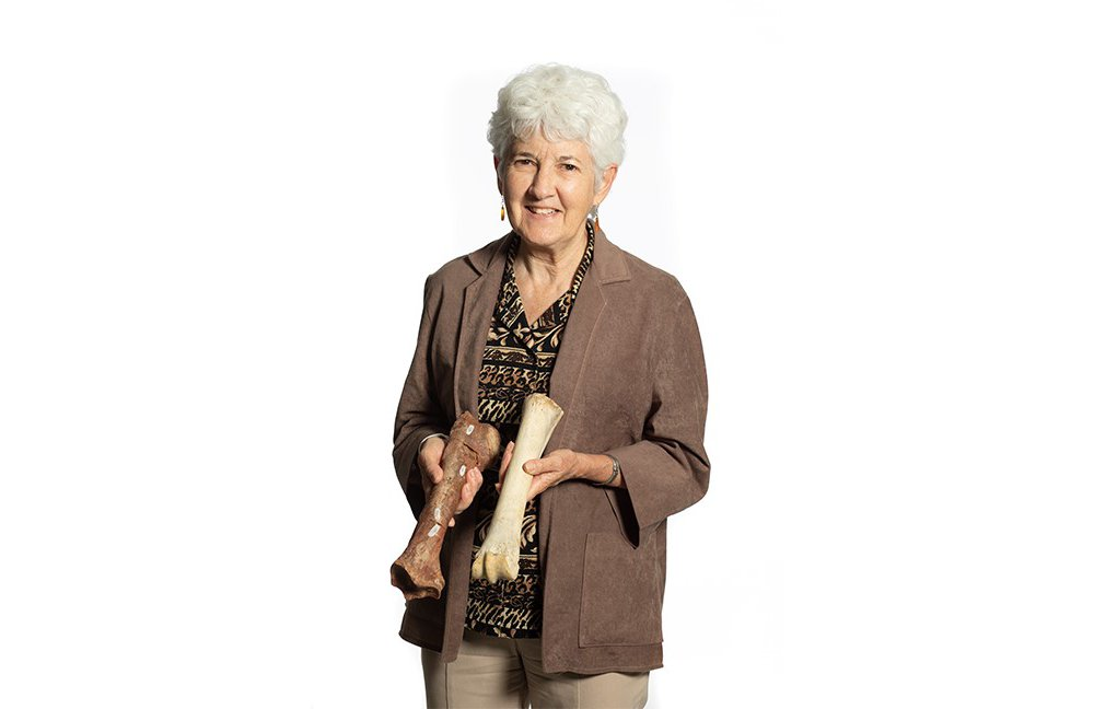 Kay Behrensmeyer pioneered the field of taphonomy, or the study of how organisms become fossils. (Smithsonian)
