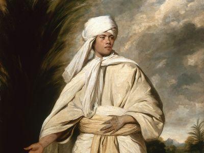 Joshua Reynolds, Portrait of Omai, circa 1776