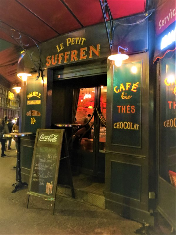 Classic Imagery in a Paris street café Entrance thumbnail