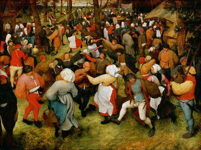 The Wedding Dance by Pieter Bruegel the Elder, 1566
