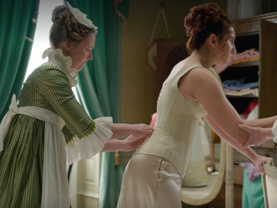 """The depiction of corsets in the premiere episode of """"Bridgerton"""" is more of the same mythmaking from popular culture."""