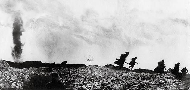 World War I British troops Battle of Arras