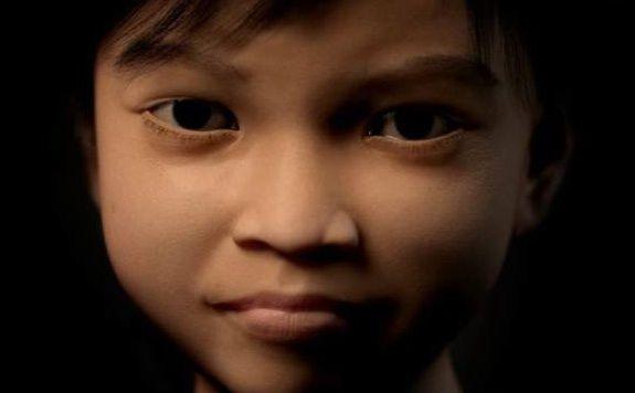 Sweetie, a virtual 10-year-old Filipino girl