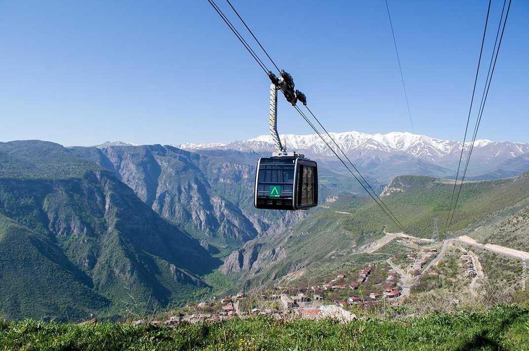 How a Record-Breaking Aerial Tramway Helped Save a Centuries-Old Armenian Monastery