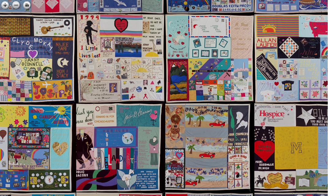 You Can Now Explore All 48,000 Panels of the AIDS Memorial Quilt Online
