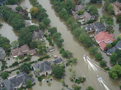 Hurricane Harvey unexpectedly flooded large parts of Houston despite abating wind speeds.