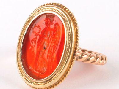 Anna Freud's signet ring.