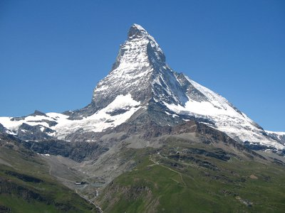 Reaching the summit of the Matterhorn made Annie Smith Peck well-known.