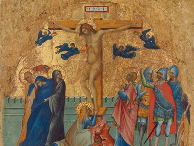 Paolo Veneziano, The Crucifixion, about 1340-1345