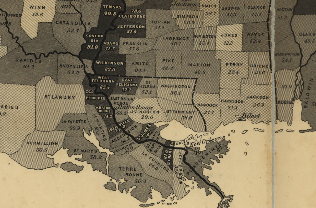 These Maps Reveal How Slavery Expanded Across the United States