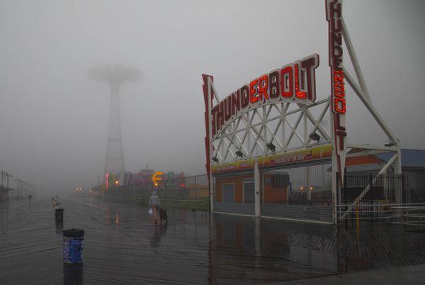 Coney Island storm thumbnail