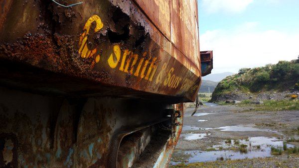 Rusted rock crusher in Kerry thumbnail