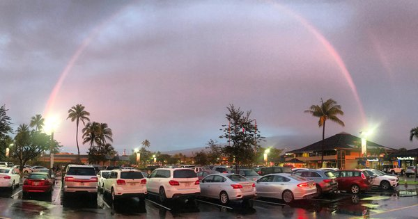 A rainbow in Maui thumbnail
