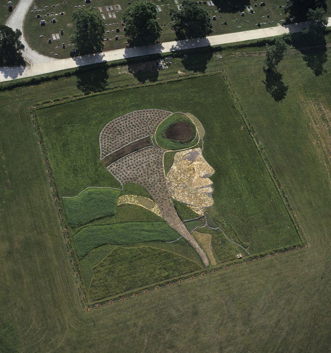 A Monumental Portrait of NASA Astronaut Stephanie Wilson Crops Up in Atlanta