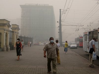 Smog and other types of pollution were linked to nine million deaths in 2015 by a new report