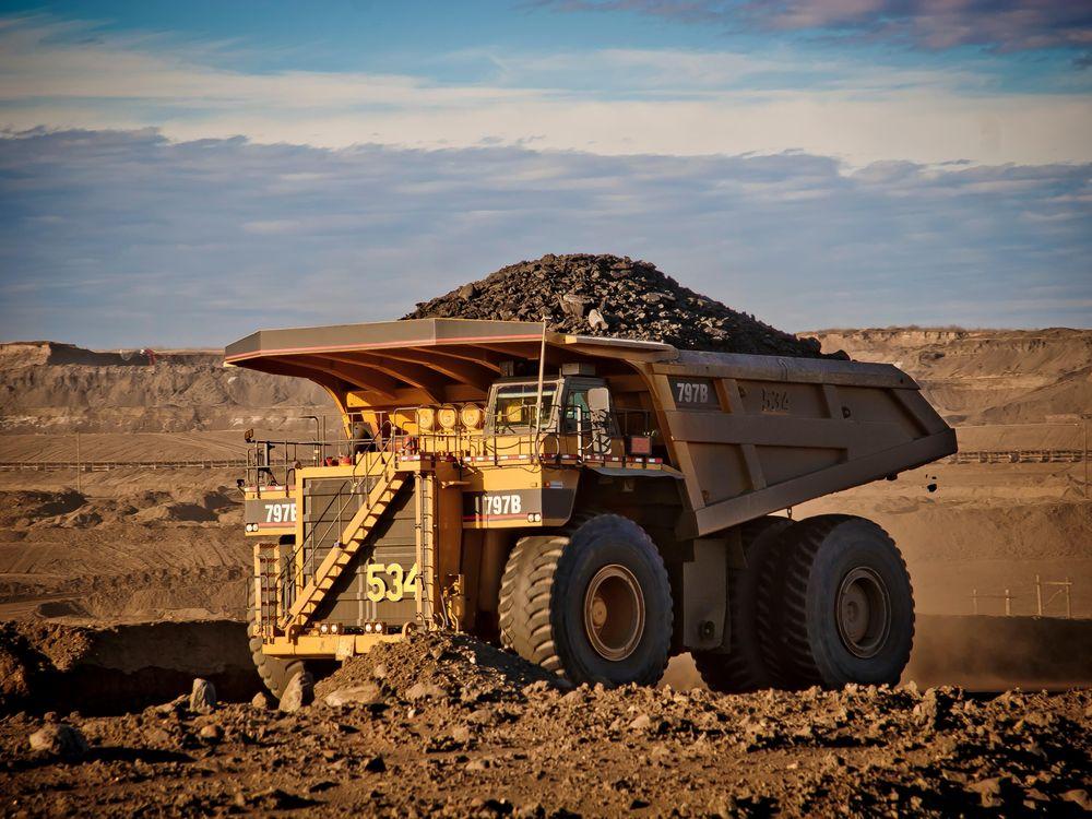 tar sands truck