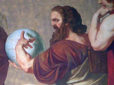 Anaxagoras, who lived in the fifth century B.C., was one of the first people in recorded history to recognize that the moon was a rocky, mountainous body.