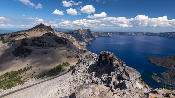 Crater Lake from the Watchman. thumbnail