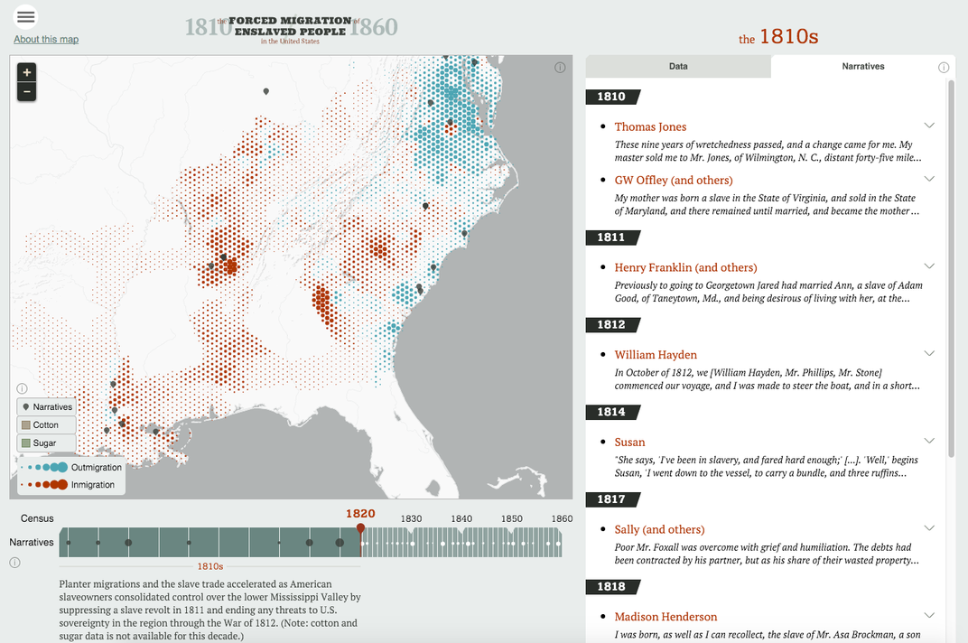 Explore America's History With These Richly Interactive Maps