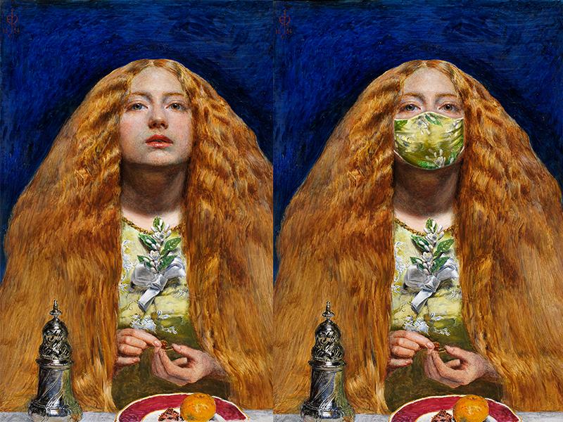 John Everett Millais, The Bridesmaid