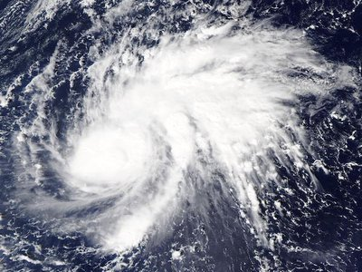 The Philippines is naturally exposed to natural disasters like typhoons and experiences around 20 typhoons each year.