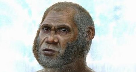An artist's conception of the unusual humans living in southwestern China 11,500 to 14,300 years ago.