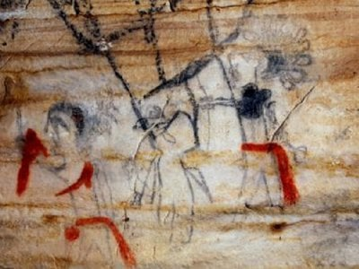 At one point, archaeologists thought the art might be modern graffiti due to its high level of detail.