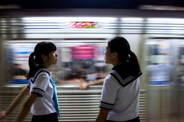 Japanese School Girls  thumbnail