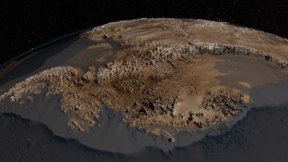 Here's What Antarctica Looks Like Under All The Ice