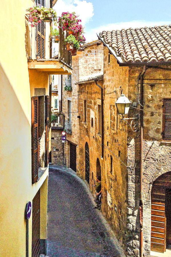 Italian Street Scene thumbnail