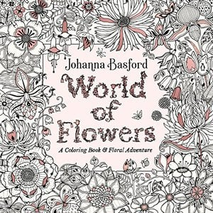 Preview thumbnail for 'World of Flowers: A Coloring Book and Floral Adventure