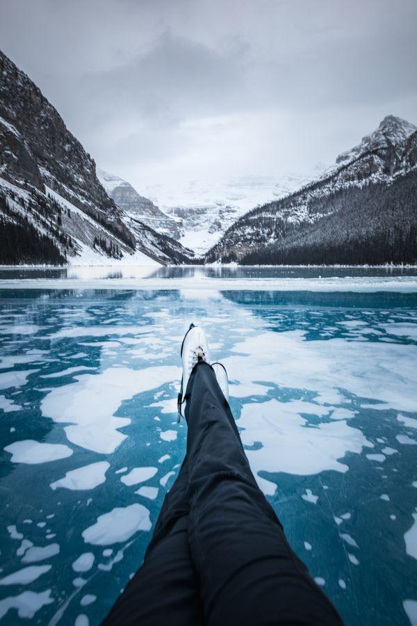 Thin Ice and Ice Skates thumbnail