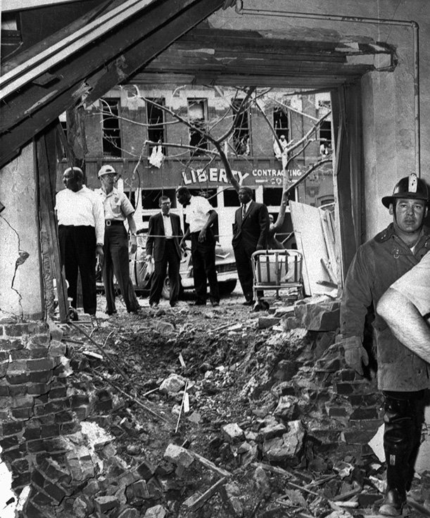 Bearing Witness to the Aftermath of the Birmingham Church Bombing