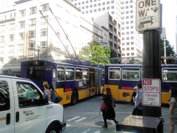 Clogged Between Bus thumbnail