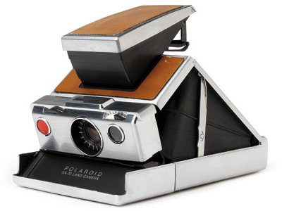 Artists such as David Hockney were inspired by the SX-70.