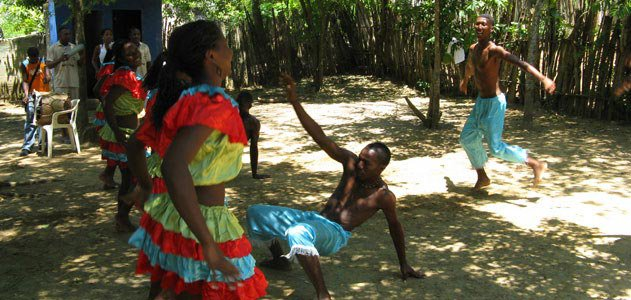Students at Palenque Batata Dance and Music School